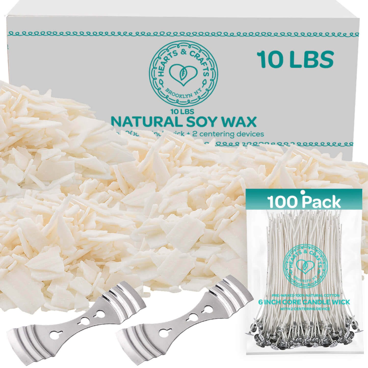 Soy Wax Candle Kit – 10lb