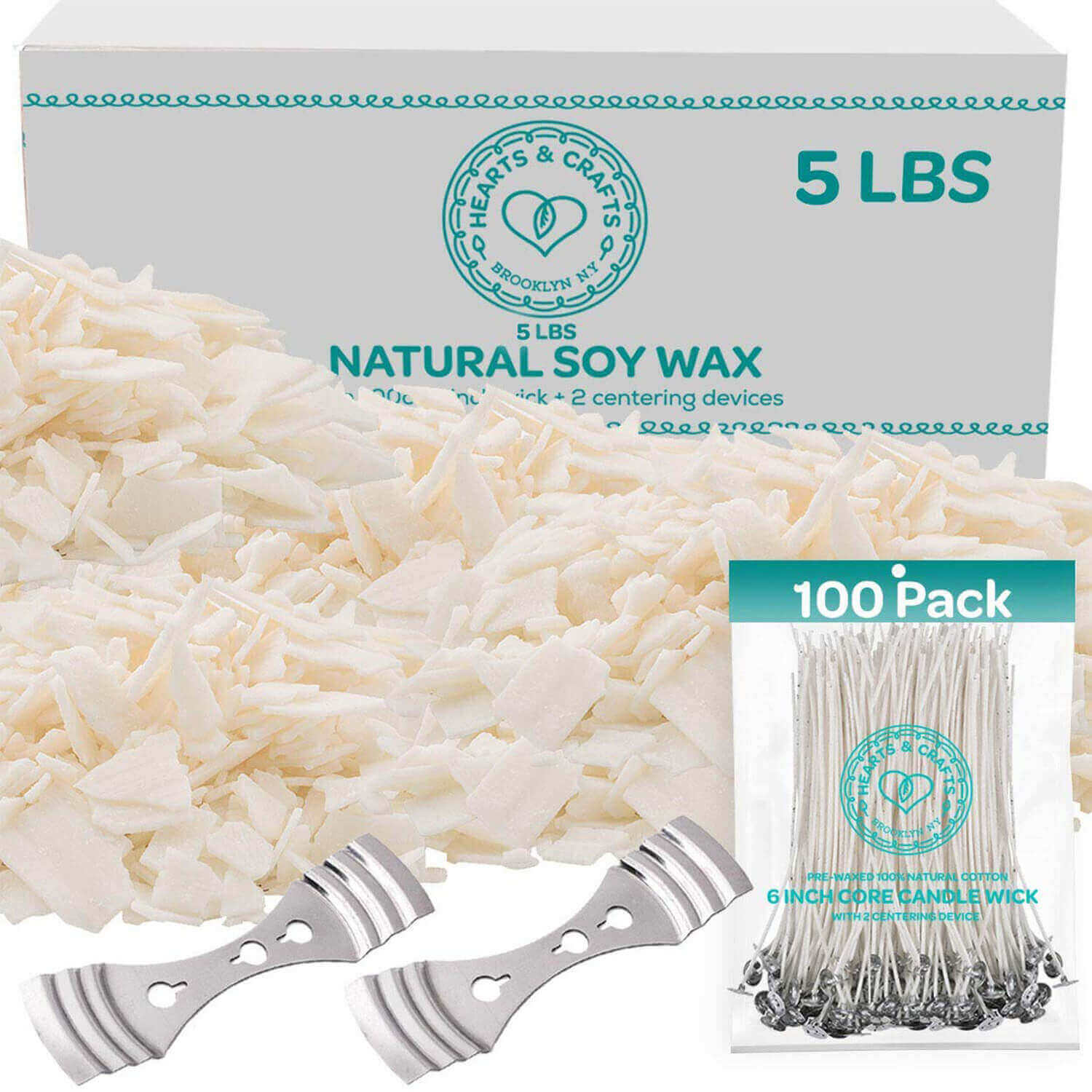Soy Wax Candle Kit – 5lb